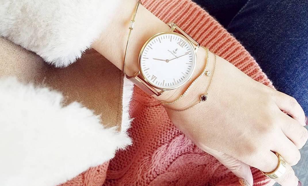 春のコーデは手元のおしゃれがポイント!腕時計を使いこなしておしゃれ感アップ