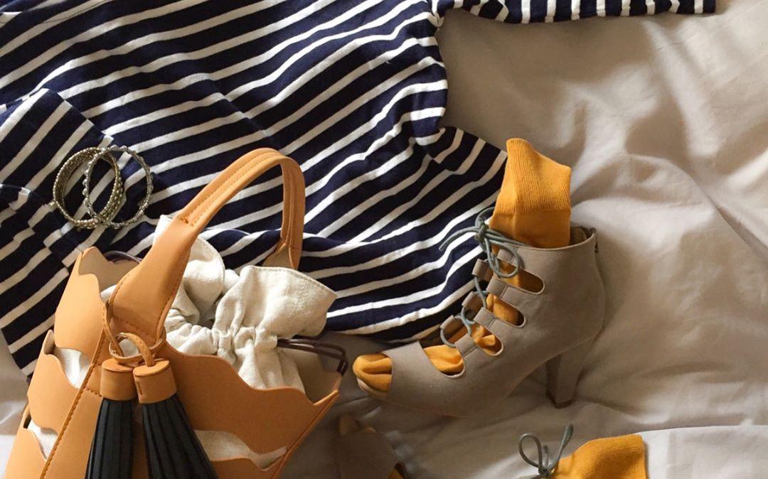 春色のカラーソックスで気分も晴れやかに。靴下を上手に使いこなすコツとは?