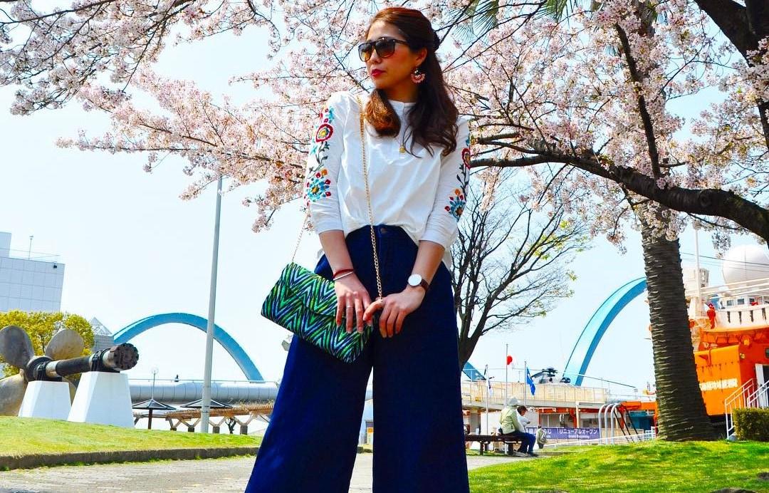春のきれいめカジュアルはこう楽しむ!裾フリンジで叶えるこなれ感アップコーデ