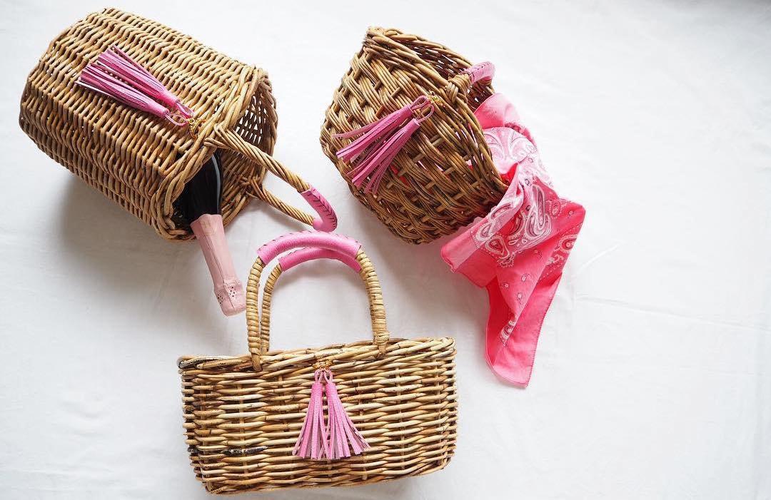 オシャレ女子必須アイテム!かごバッグを持って旬な春夏気分を高めよう!