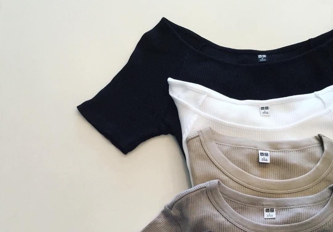 インスタグラマーも大注目!細見え効果にも期待できる『UNIQLO』のリブTシャツを着こなそう