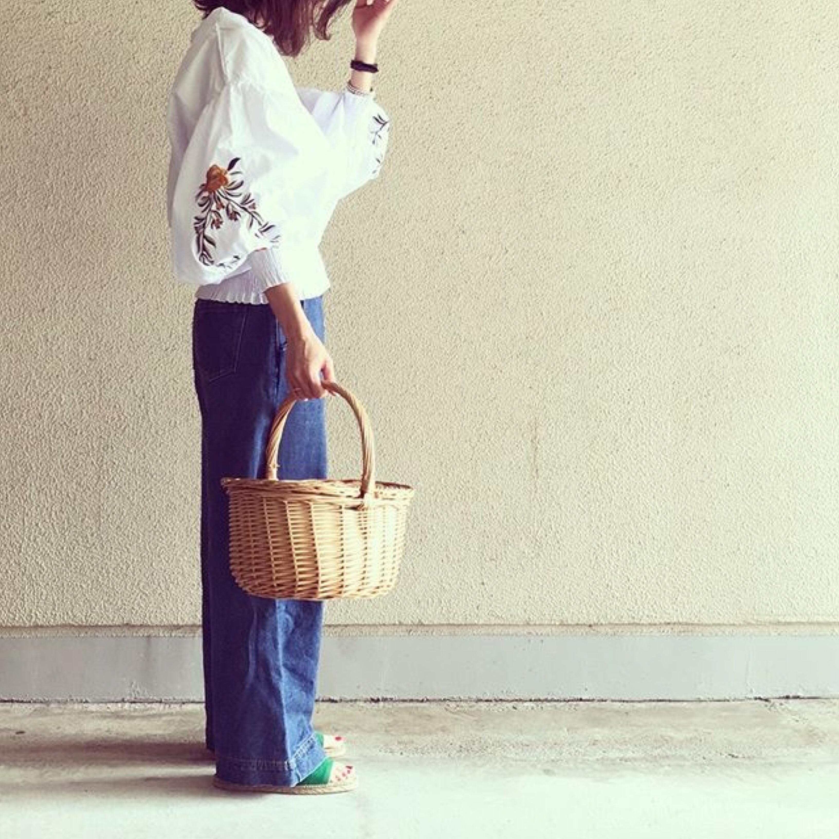 【MINESスナップ】ワンポイント刺繍で垢抜けカジュアル!