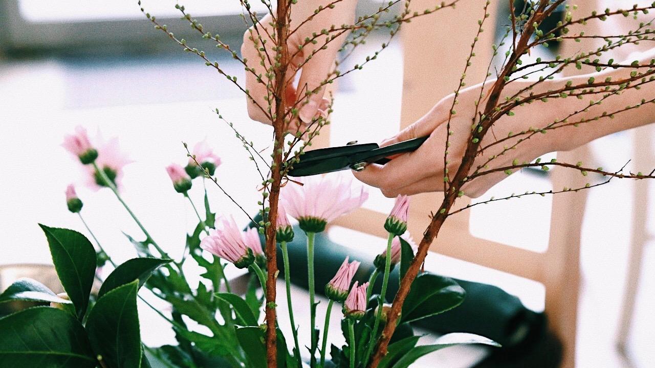 【28歳、趣味を見つけたい!】MINE編集部員が体験取材 vol.1 華道