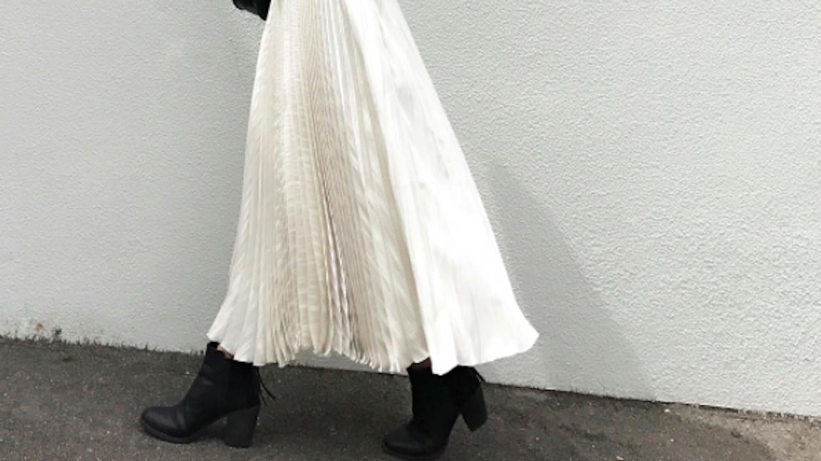 秋のマキシスカートはバランス使いに注目!大人女子が欲しい着まわし◎アイテム集