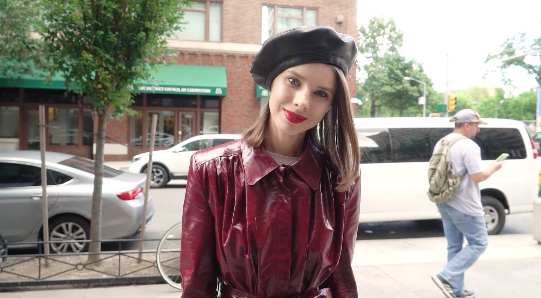 【NY】モードなボクシージャケットはエレガントに着こなして