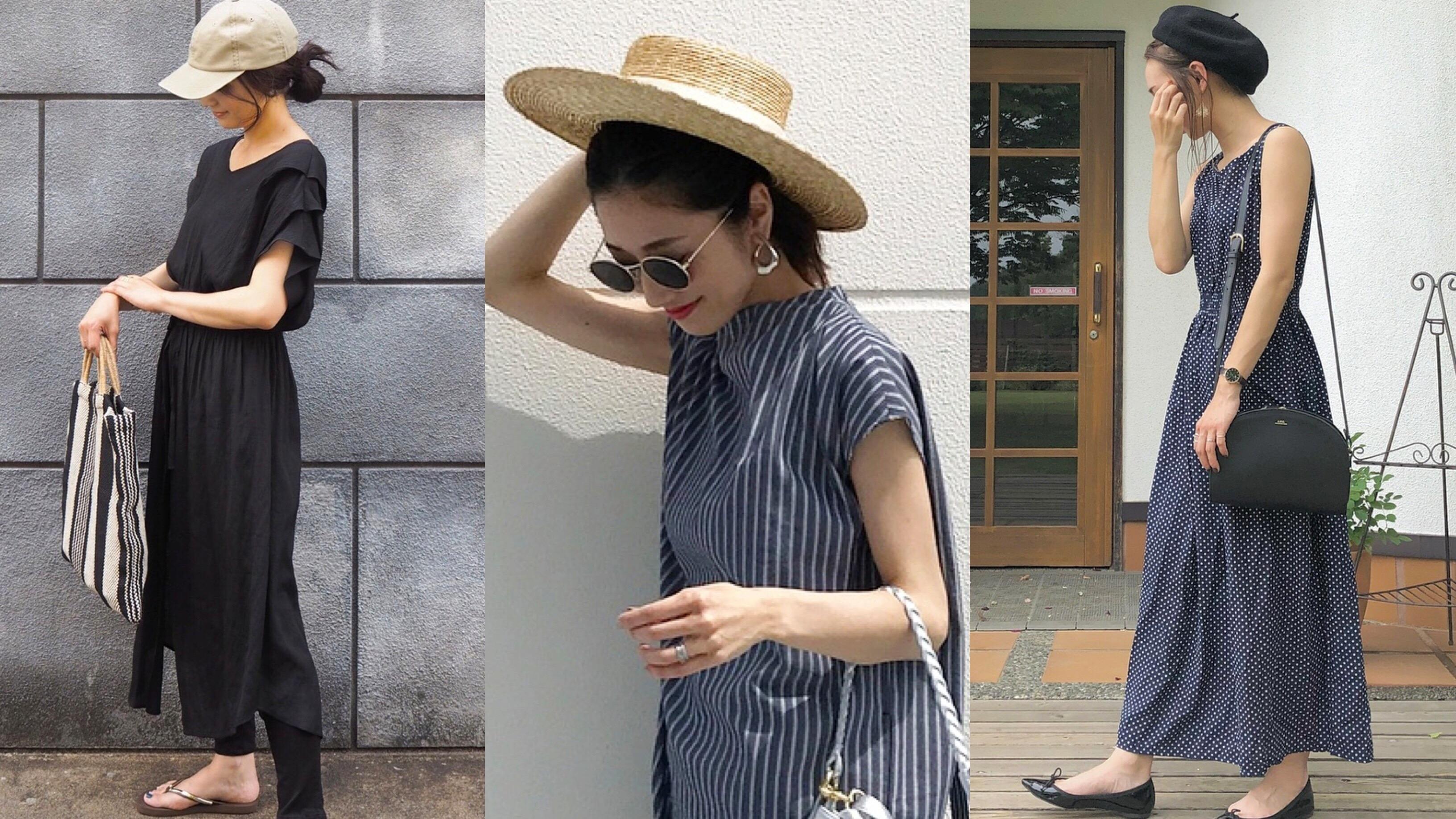 【MINESスナップ】この夏、どんな帽子でこなれる?厳選コーデ3