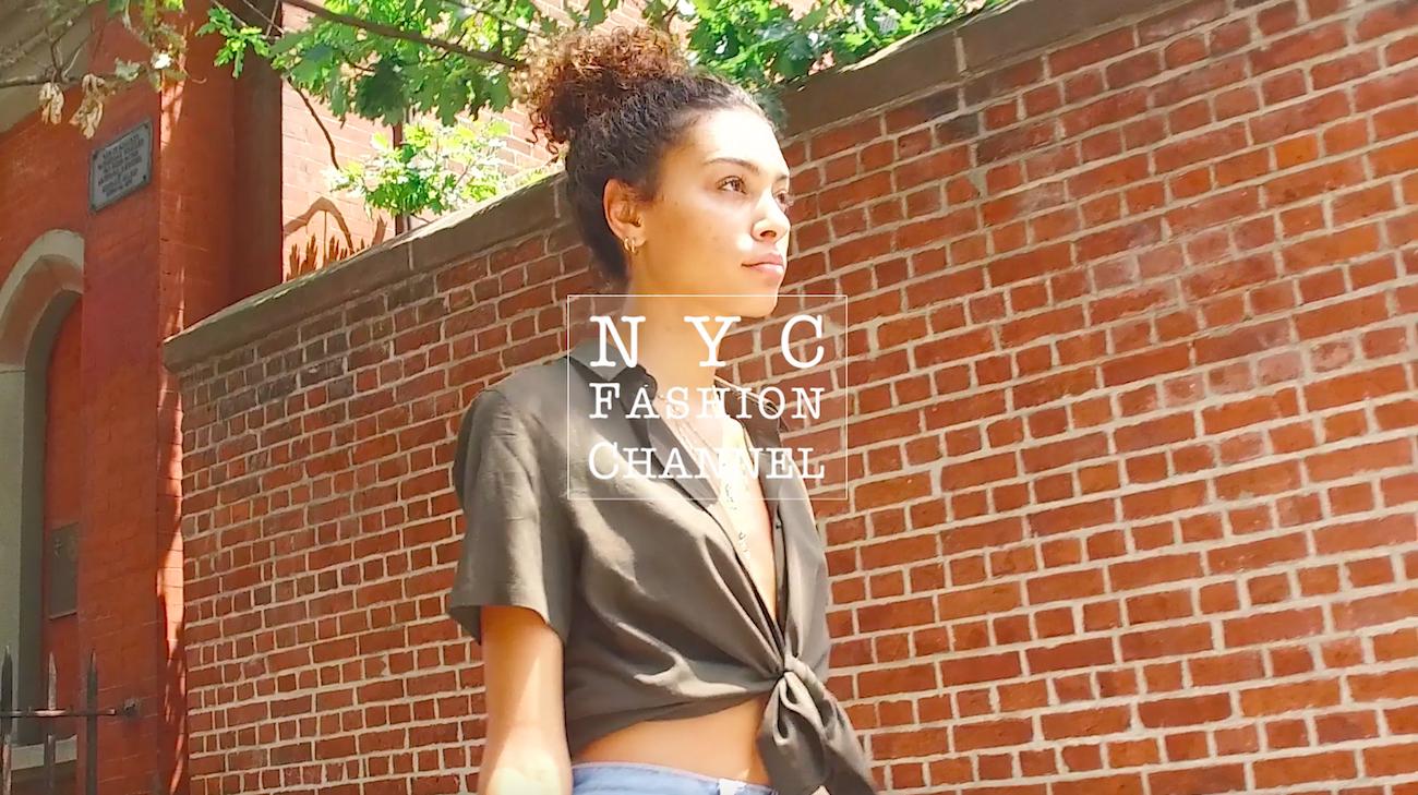 【NY】カジュアルスタイルもアースカラーシャツで大人に仕上げる