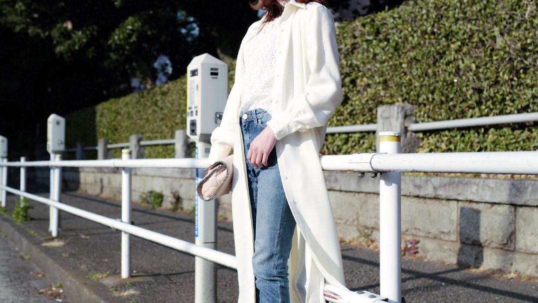春に着たい!白カーディガンで作る大人女子スタイル