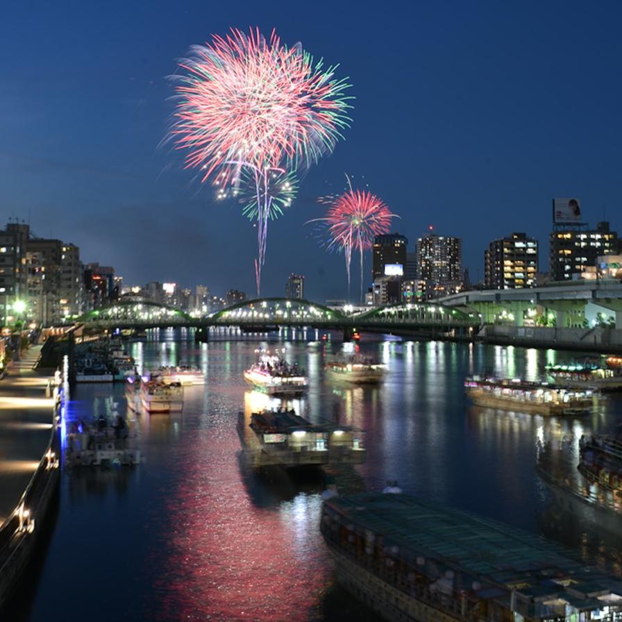 今からチェックしたい! 7月に開催されるTOKYO花火大会