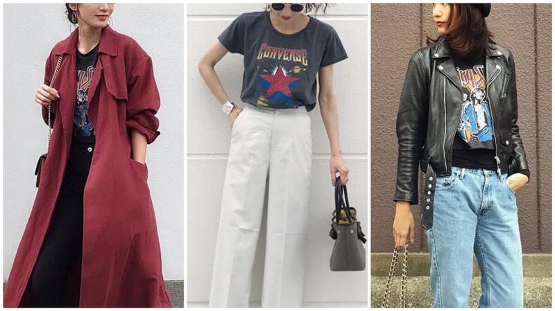 ロックファッションは、大人こそクールに決まる!【レディース