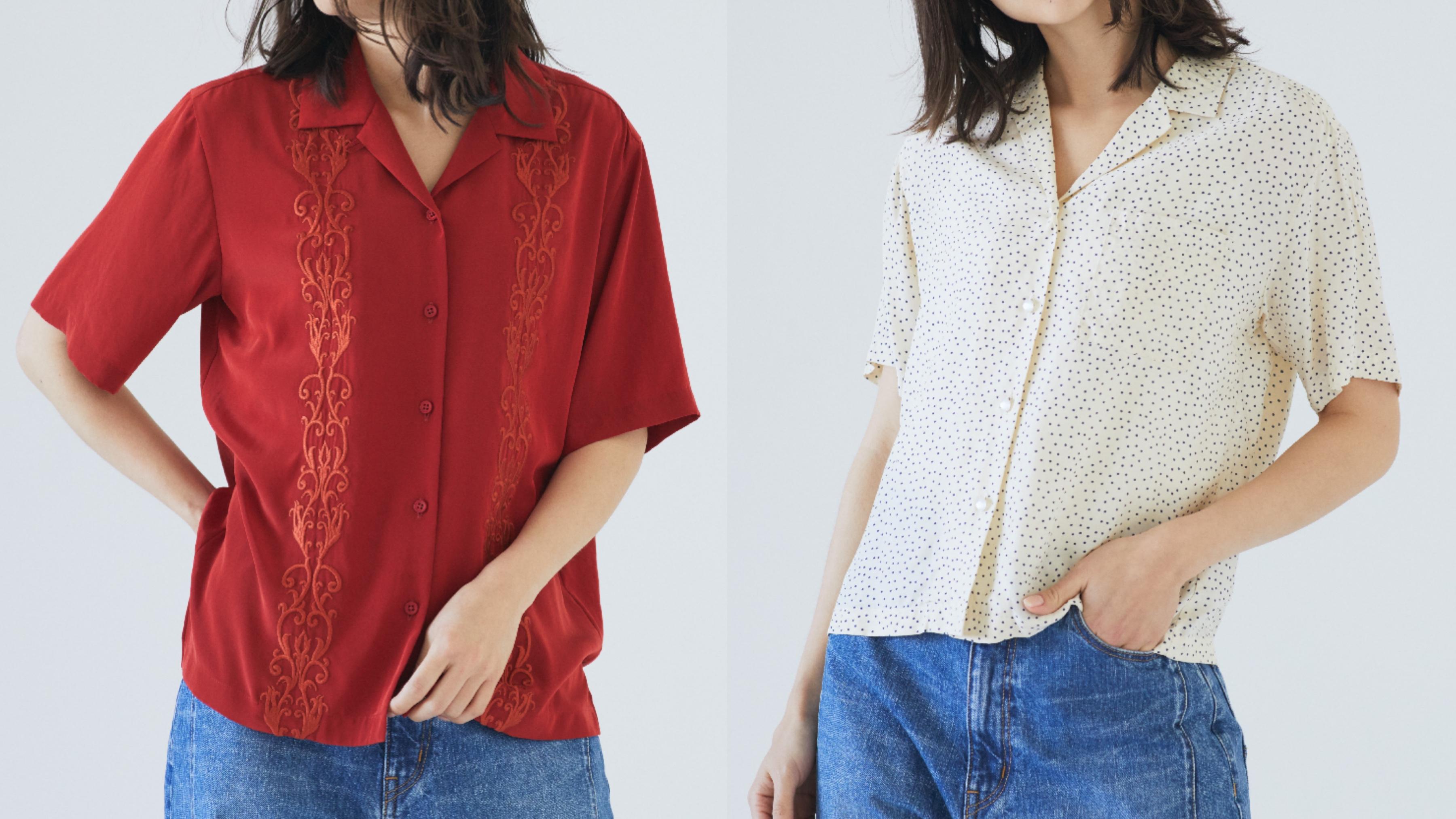 レイドバックなムードが魅力! 開襟シャツで初夏を彩る
