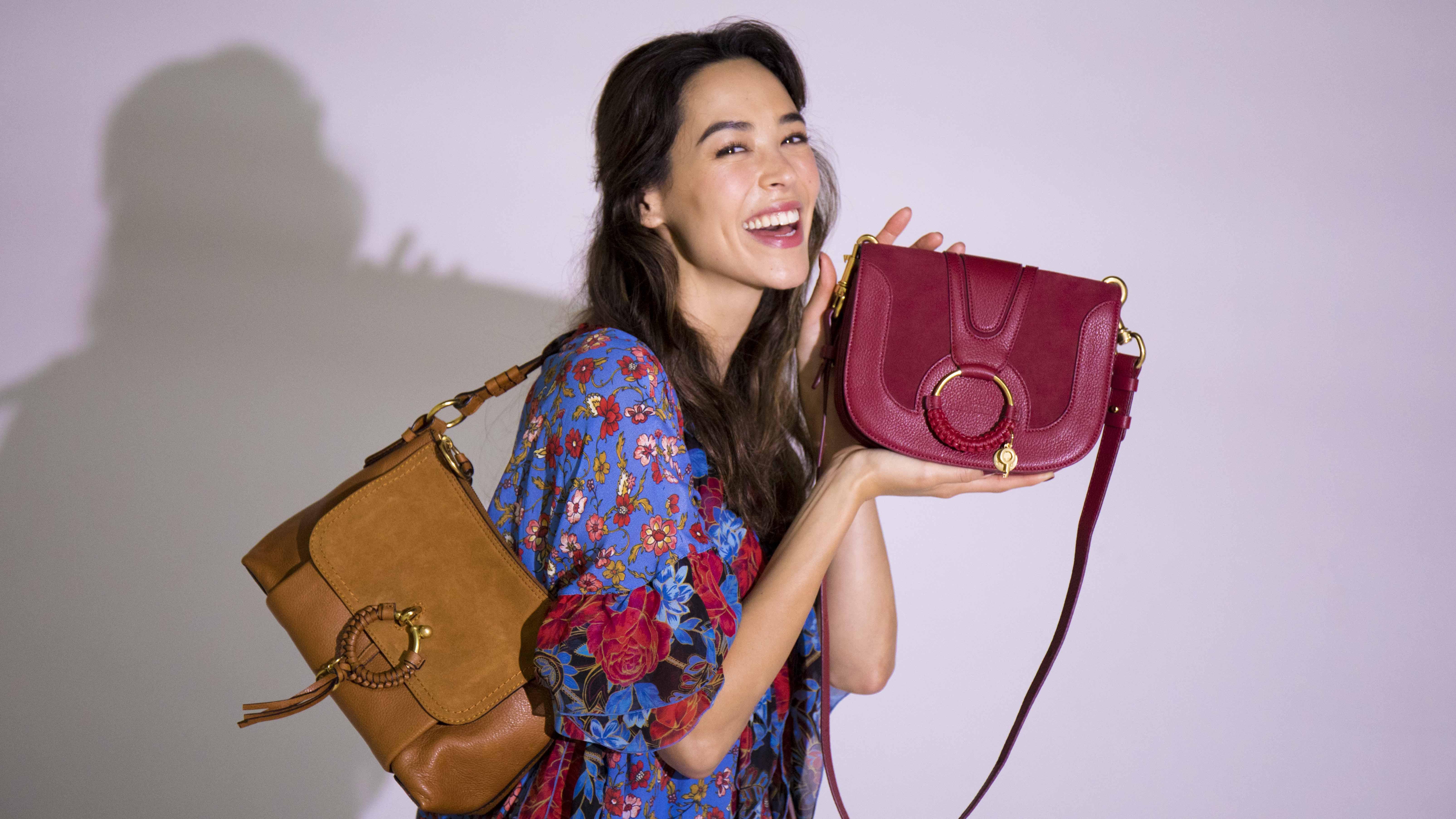 【See By Chloé】で見つけたボヘミアンワンピと好相性のミューズバッグ