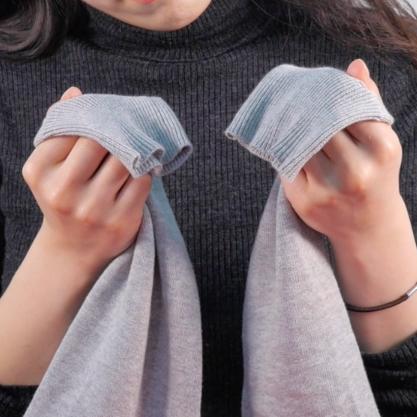 【DIY】家にあるもので簡単に解決!伸びてしまったセーターを元に戻す裏技 PART2