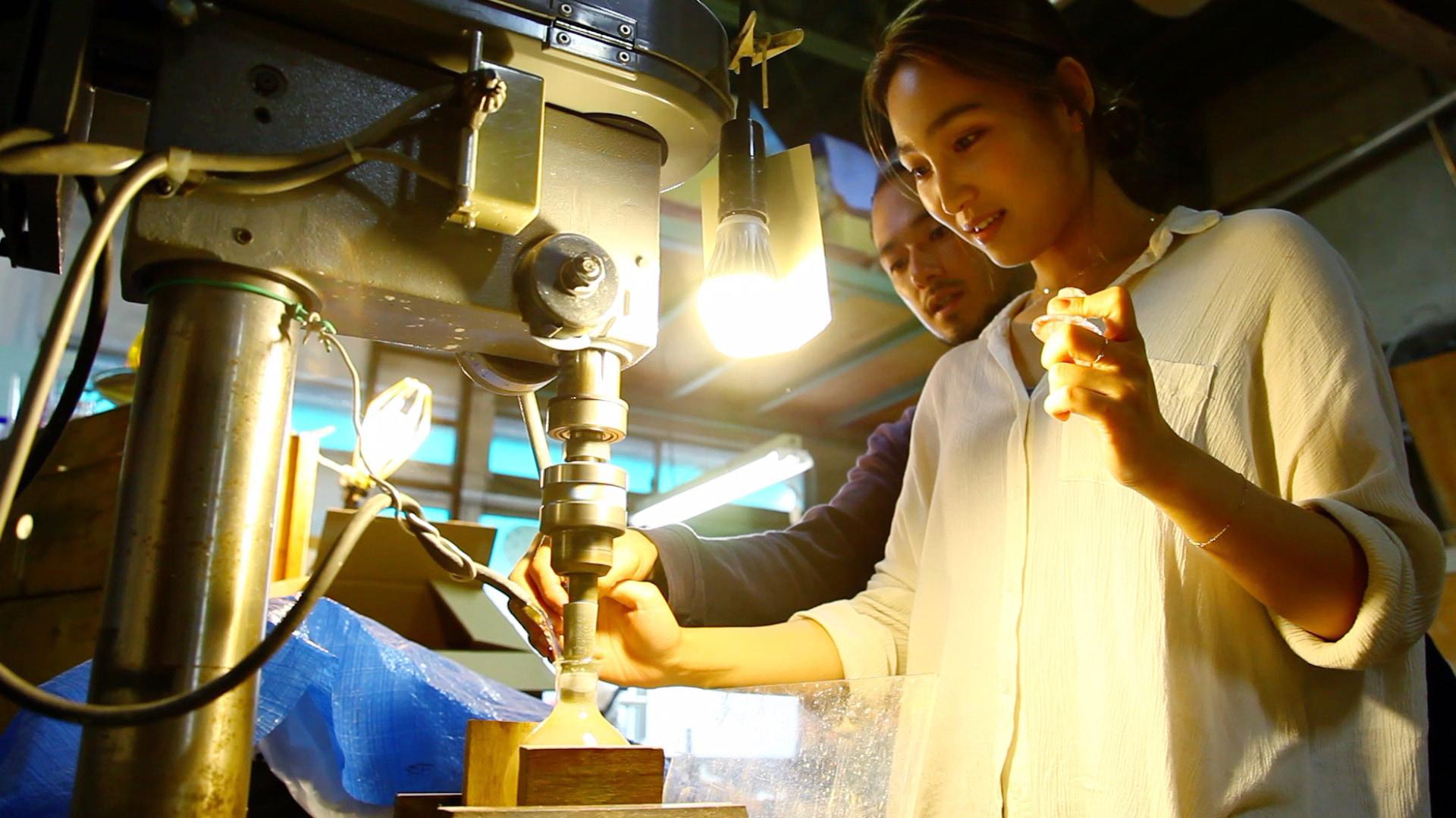 【ミニ旅:蔵前〜清澄白河④】伝統工芸品の魅力を肌で感じるガラス加工体験に挑戦!