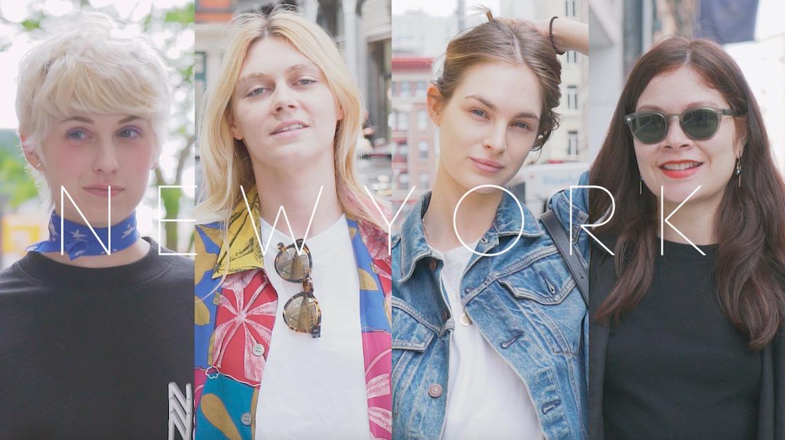 NYの街中から最新Spring Fashionをお届け!
