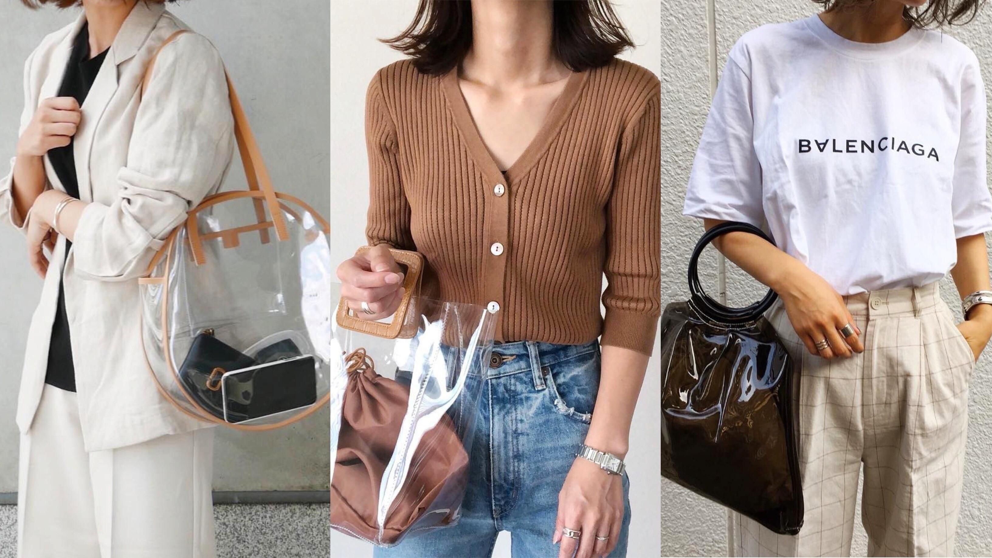 【MINES】クリアバッグ、1つは欲しい!迷える大人女子におすすめの3タイプ