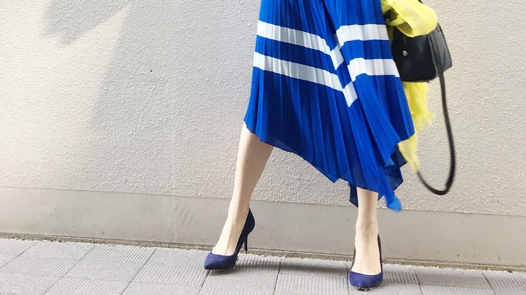 今月のZARA女【スカート編】は柄が主役の辛口コーデ