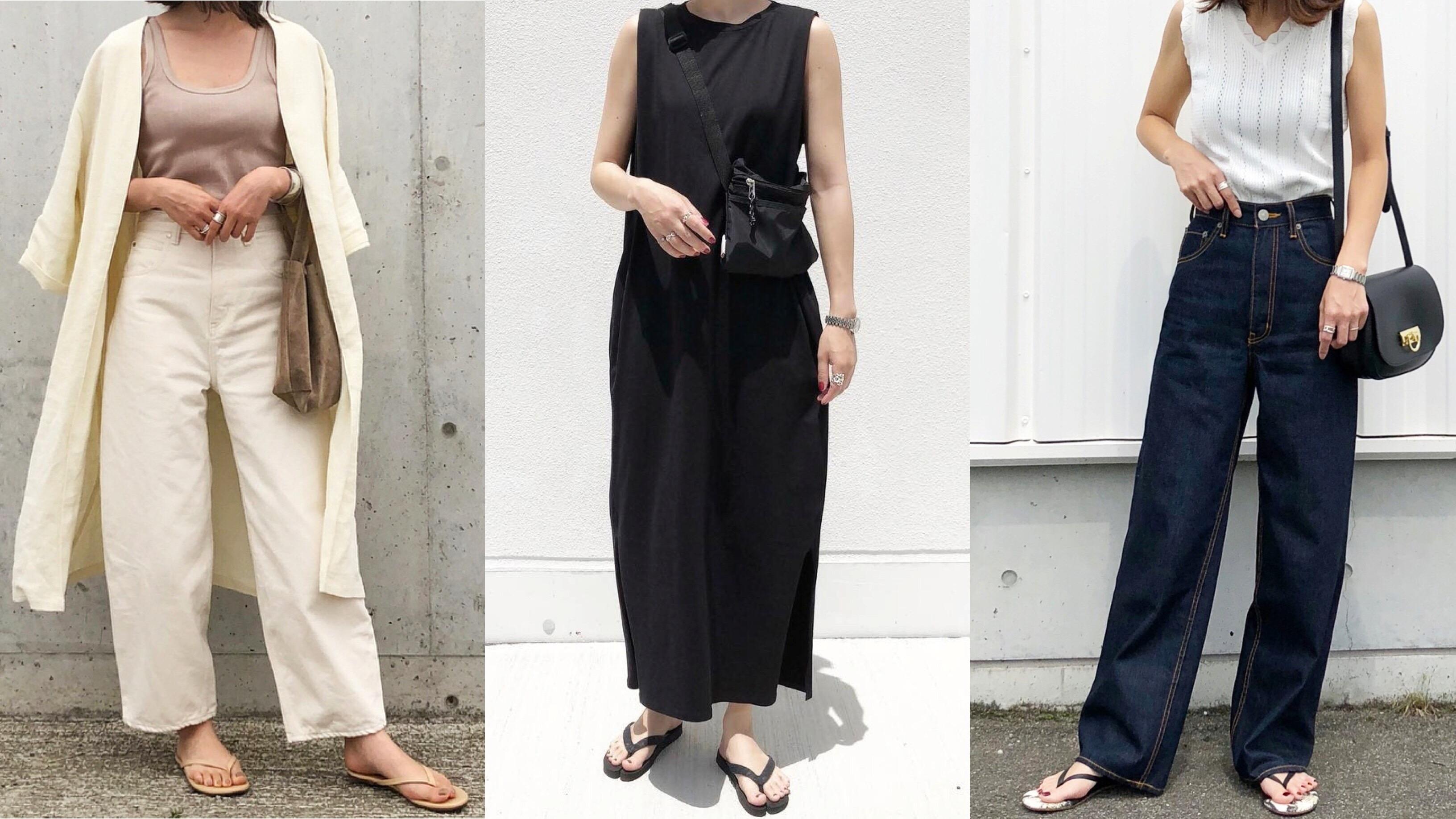 【MINESスナップ】旬のビーチサンダル、今履きたいデザインはこの3つ!