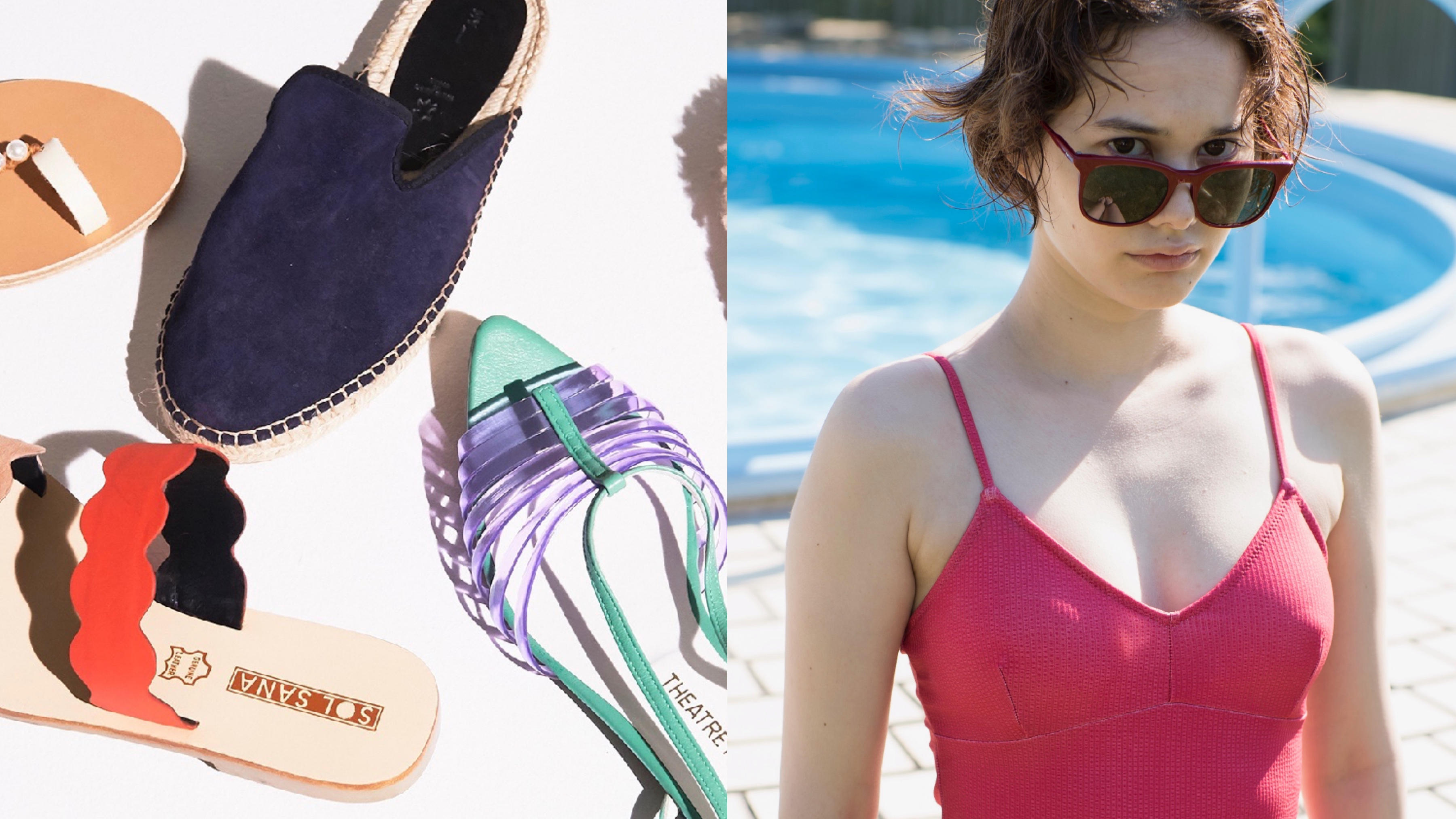 ビーチで視線を独り占め! 夏を満喫する水際ファッションまとめ
