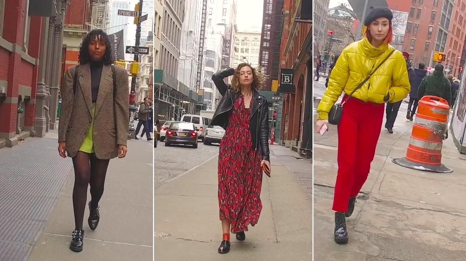 NY/ 春到来!季節の変わり目の、ニューヨーカー最新ファッションをチェック!