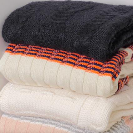 【DIY】冬物トップスの綺麗な収納方法