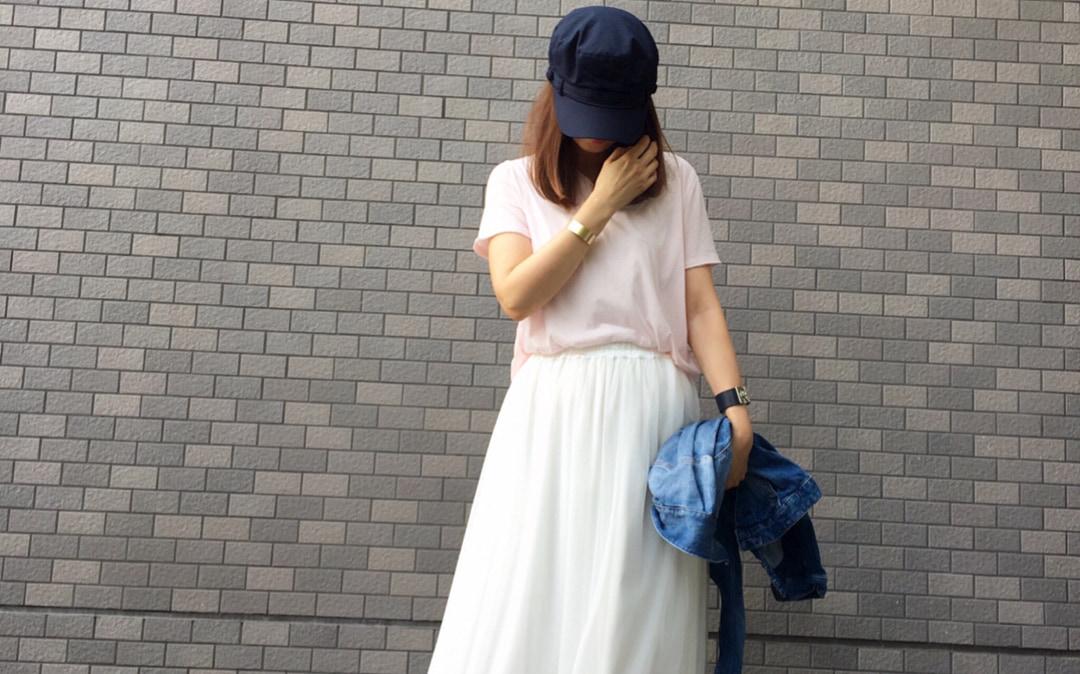 ライト&ボリューミーなチュールスカート!夏のスタイルをフェミニンに仕上げる