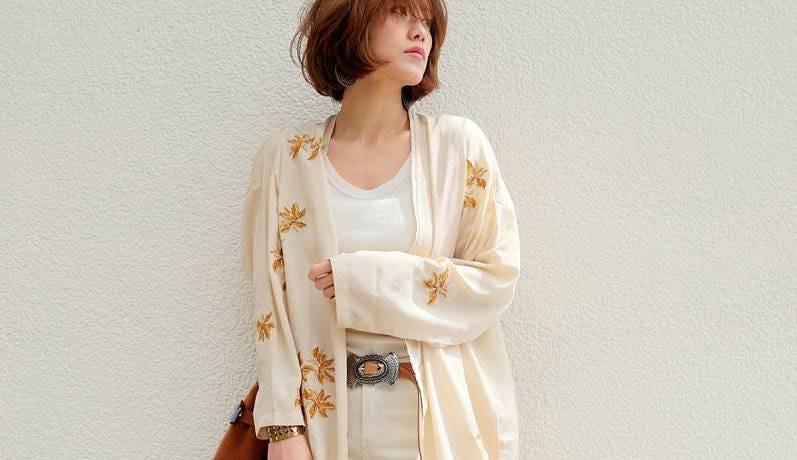 この秋におすすめ!綿パンツで作る洗練された大人のワントーンコーデ
