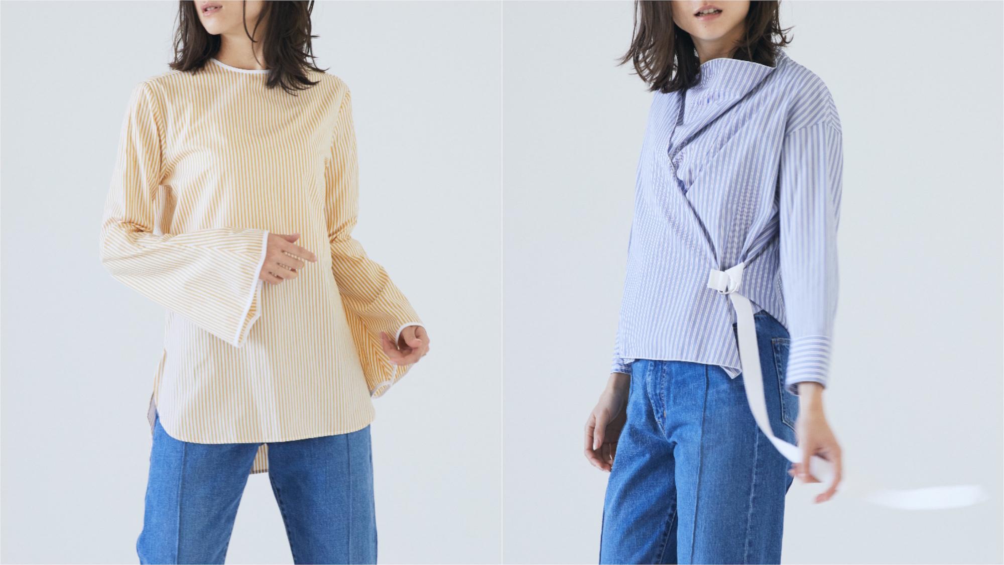春ムードが高まる、押さえておきたいストライプシャツ5選