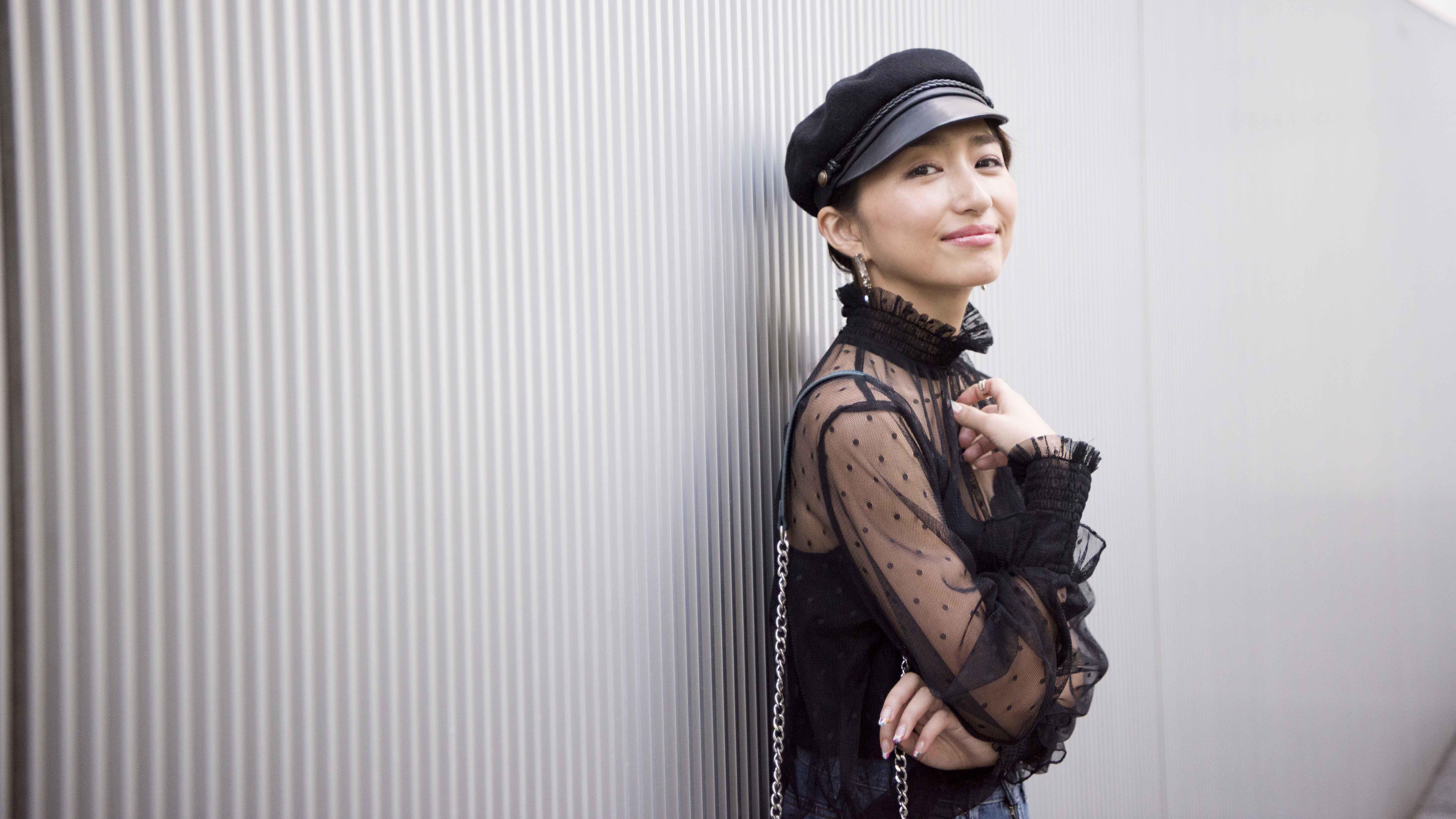 ハンサムカジュアルに楽しむ肌見せスタイル/永田杏奈さんの7days coordinate #Day6