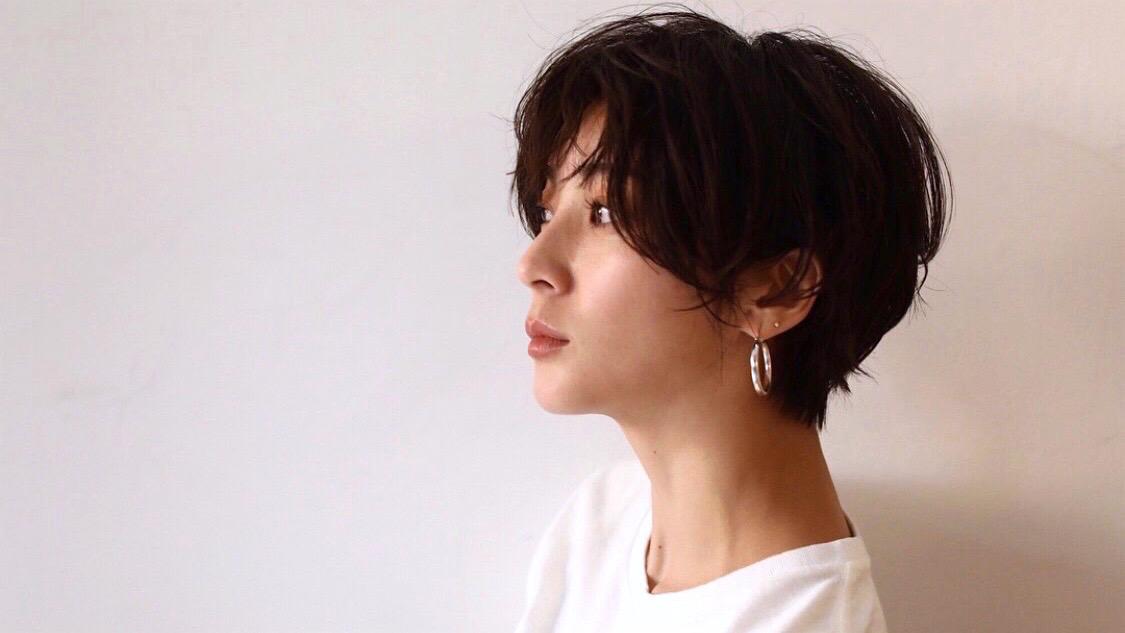 女っぽフォルムで垢抜けるショートボブ【ヘアカット/吉田怜香編】