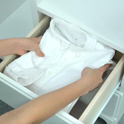 【DIY】きれいなYシャツの畳み方 3選