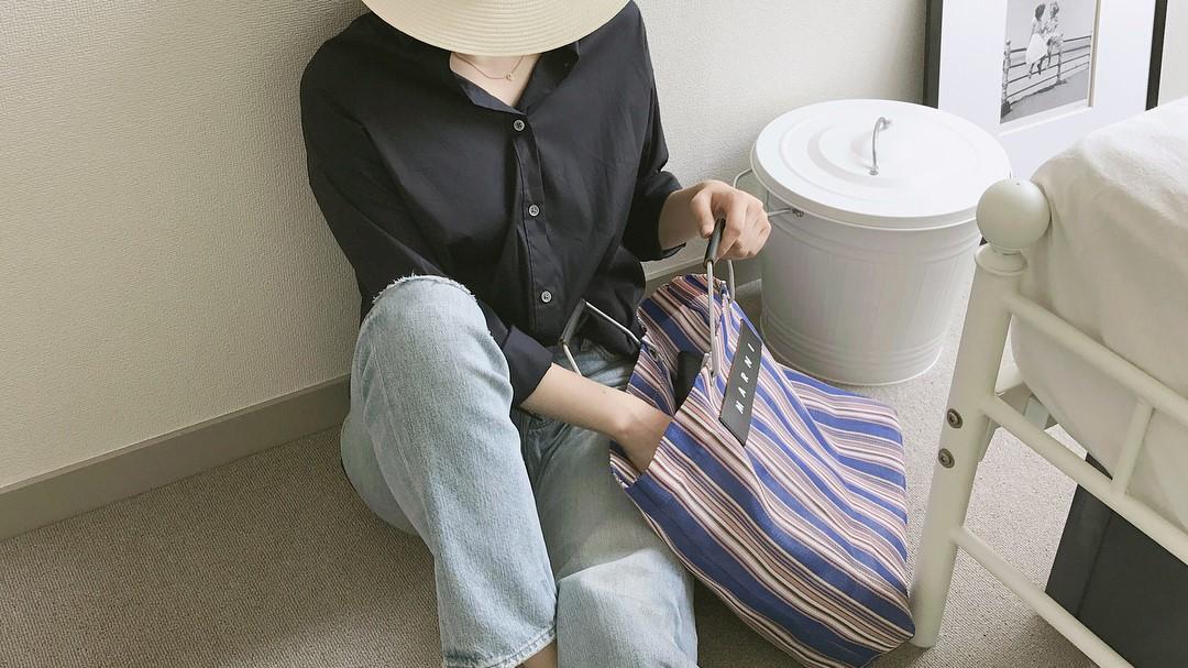 マルニのバッグ、春夏はカラフルストライプを要チェック!