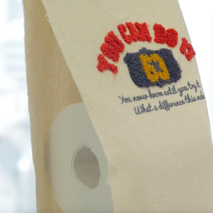 【DIY】トイレットペーパーの収納もおしゃれに!トートバッグリメイク術