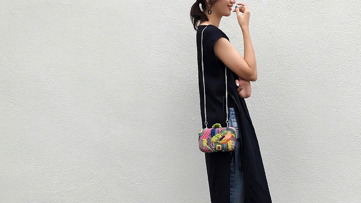 1つは持っておきたい!存在感と個性を引き立てる刺繍バッグ