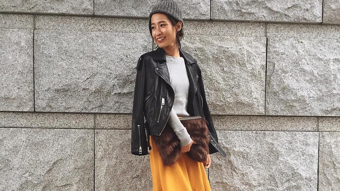 身に着ければ気分が上がる!きれい色スカートを使った大人女子コーデ10選