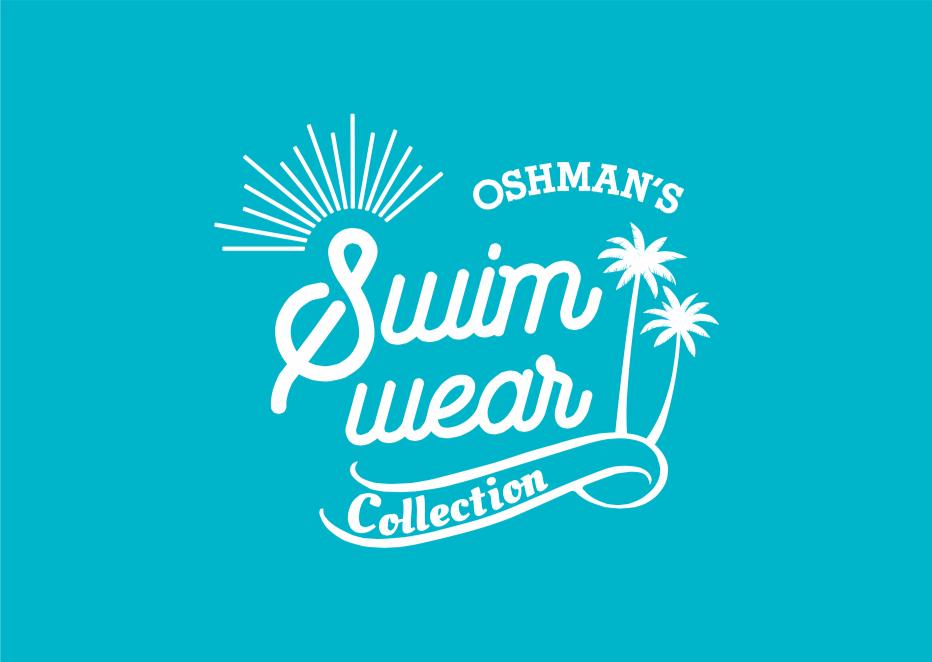 \夏本番/アクティブ派もオシャレ重視派も、水着はOSHMAN'Sで見つける!