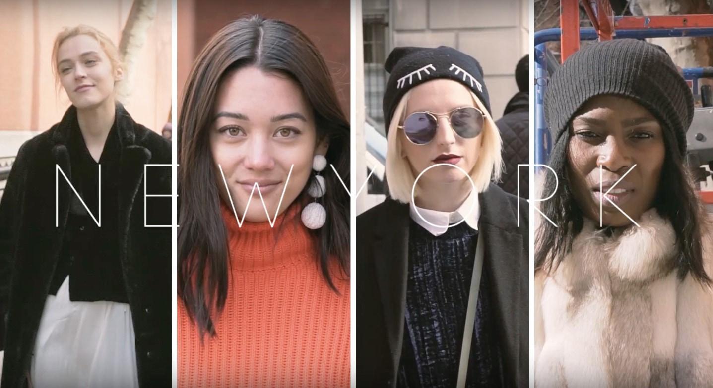 【New York Fashion Week】必見!ニューヨーカーたちの最新ファッションスタイル2017