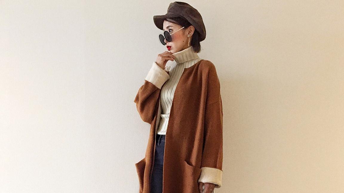カラーに注目!冬ファッションを格上げする今旬タートルネックセーターの選び方