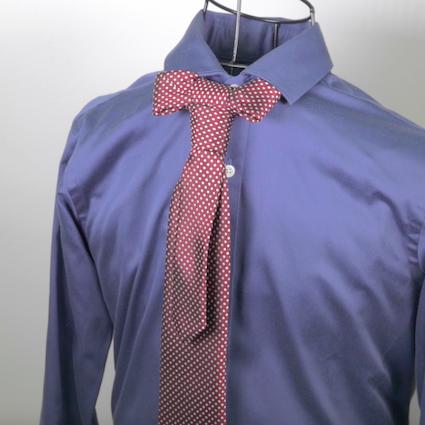 【DIY】女性も男性も必見!彼にしてあげたいパーティー用ネクタイの結び方 Vol.5【ボウタイクロスノット】