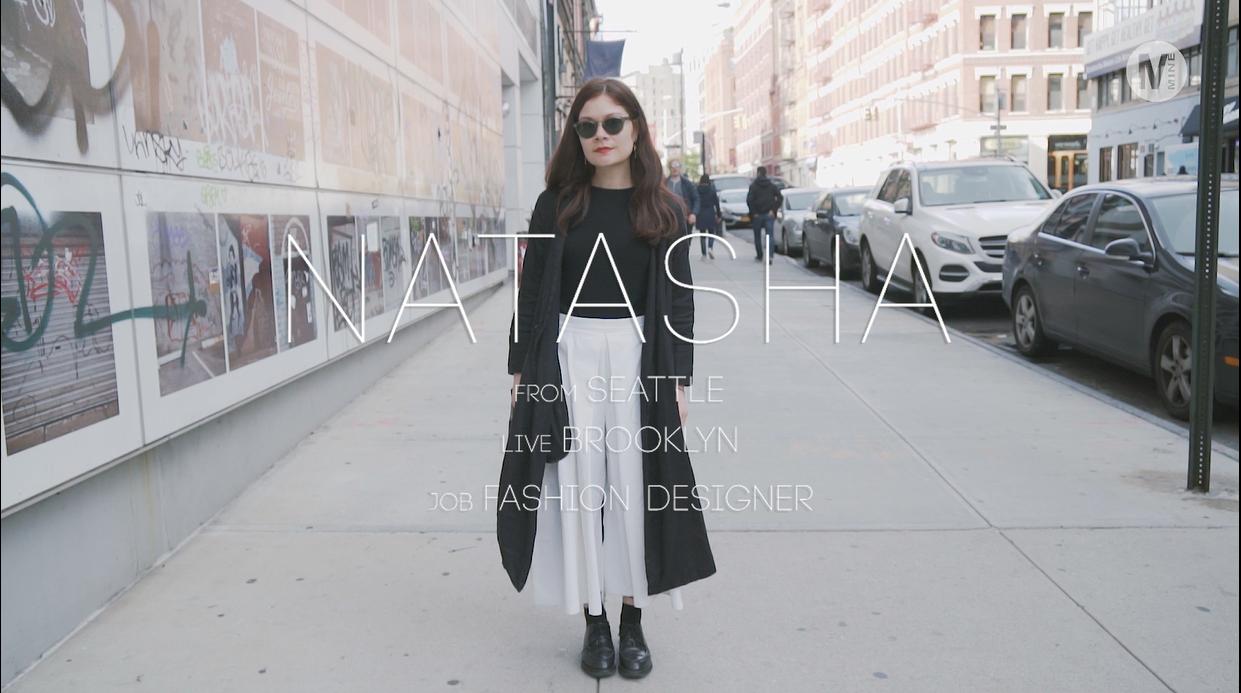Brooklyn在住、ファッションデザイナーのデティールにこだわったミニマルシックコーディネート