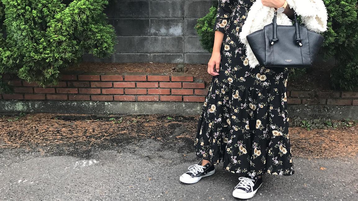もっと可愛く!converse✕ワンピで作る秋の愛され大人女子スタイル