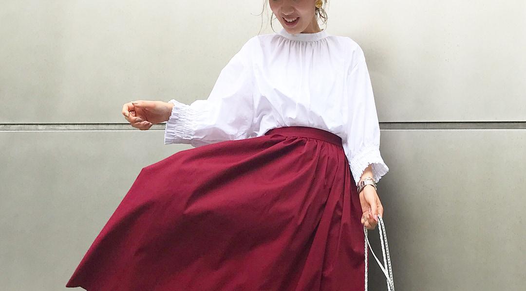 ファッション誌『andGIRL(アンドガール)』的オトナ可愛い初秋コーデ