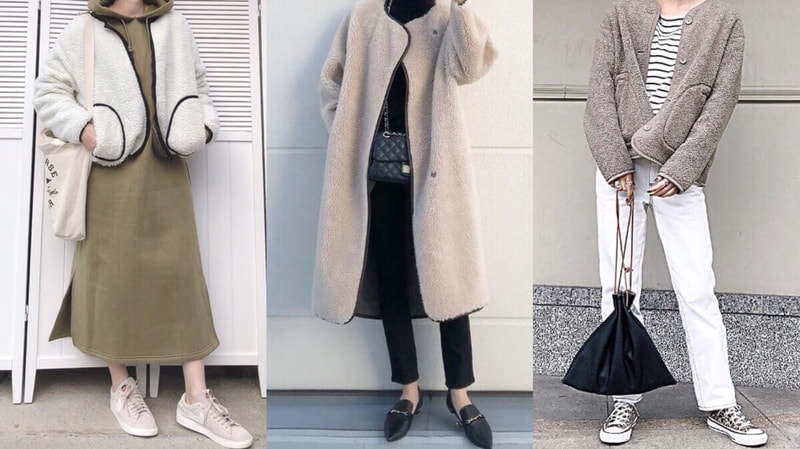 ボアブルゾンコーデ、30代でも大人可愛く着こなす方法【20選