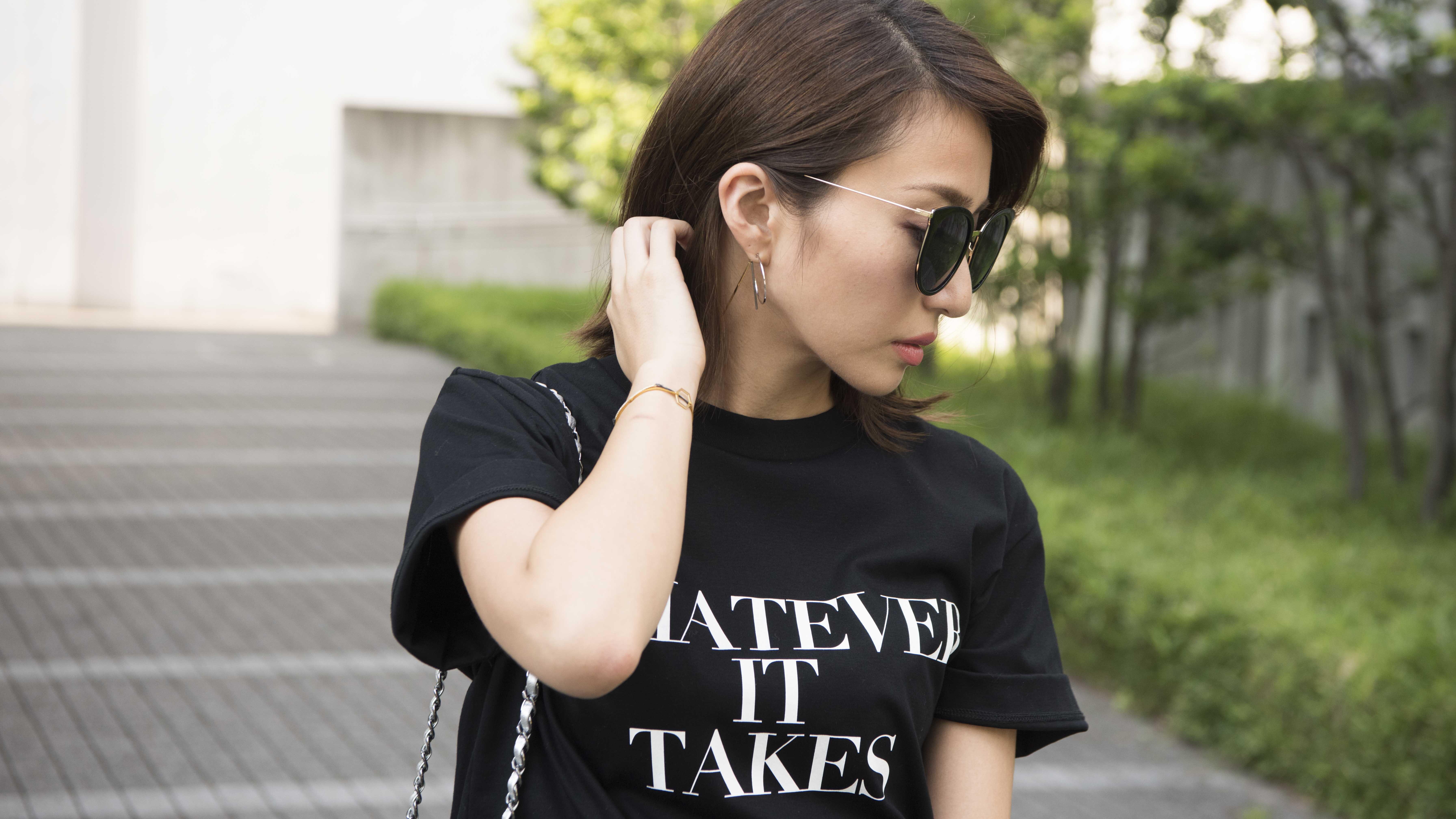 ドラマティックスカートが主役の大人の甘辛MIX/永田杏奈さんの7days coordinate #Day1