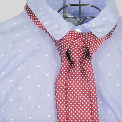 【DIY】女性も男性も必見!彼にしてあげたいパーティー用ネクタイの結び方 Vol.2【メロウィングノット】