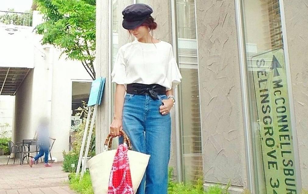 夏のコーデにマストな着やせエフェクト!ウエストマークで華奢見せを叶える簡単コーデアレンジ