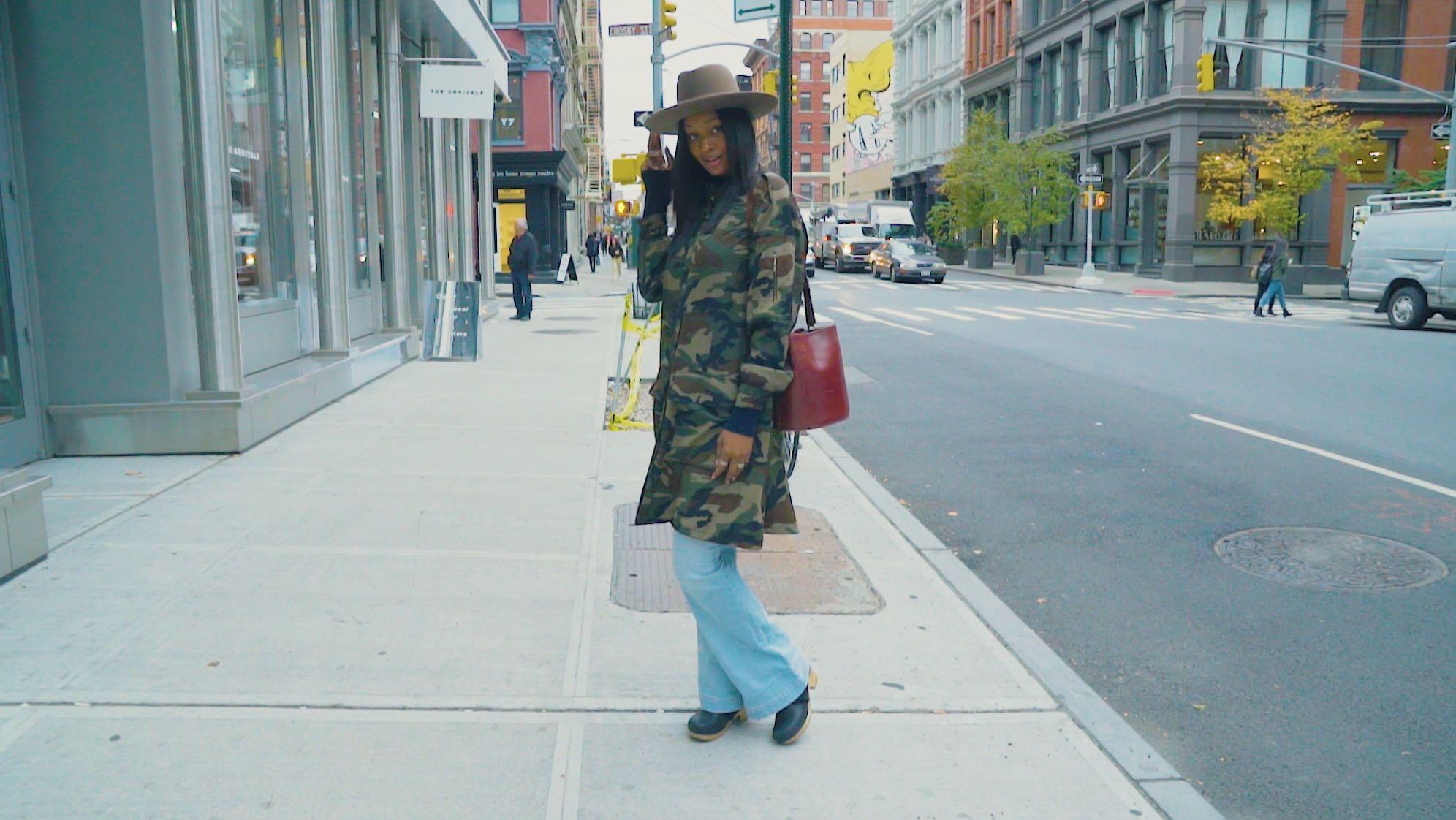 【NY】カントリー MIXで着こなすミリタリージャケット