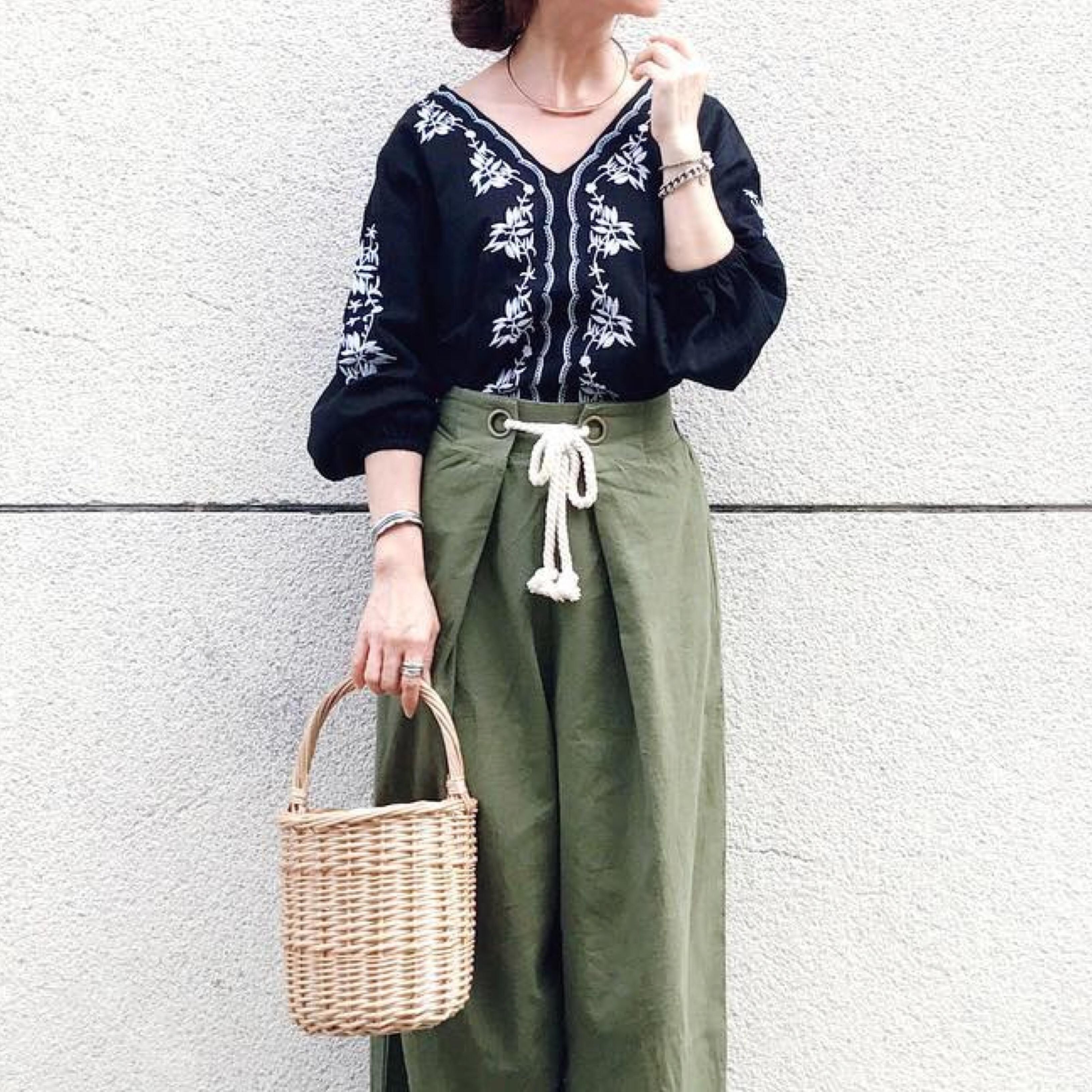 【MINESスナップ】ナチュラル&エスニックで叶える夏の大人女子スタイル
