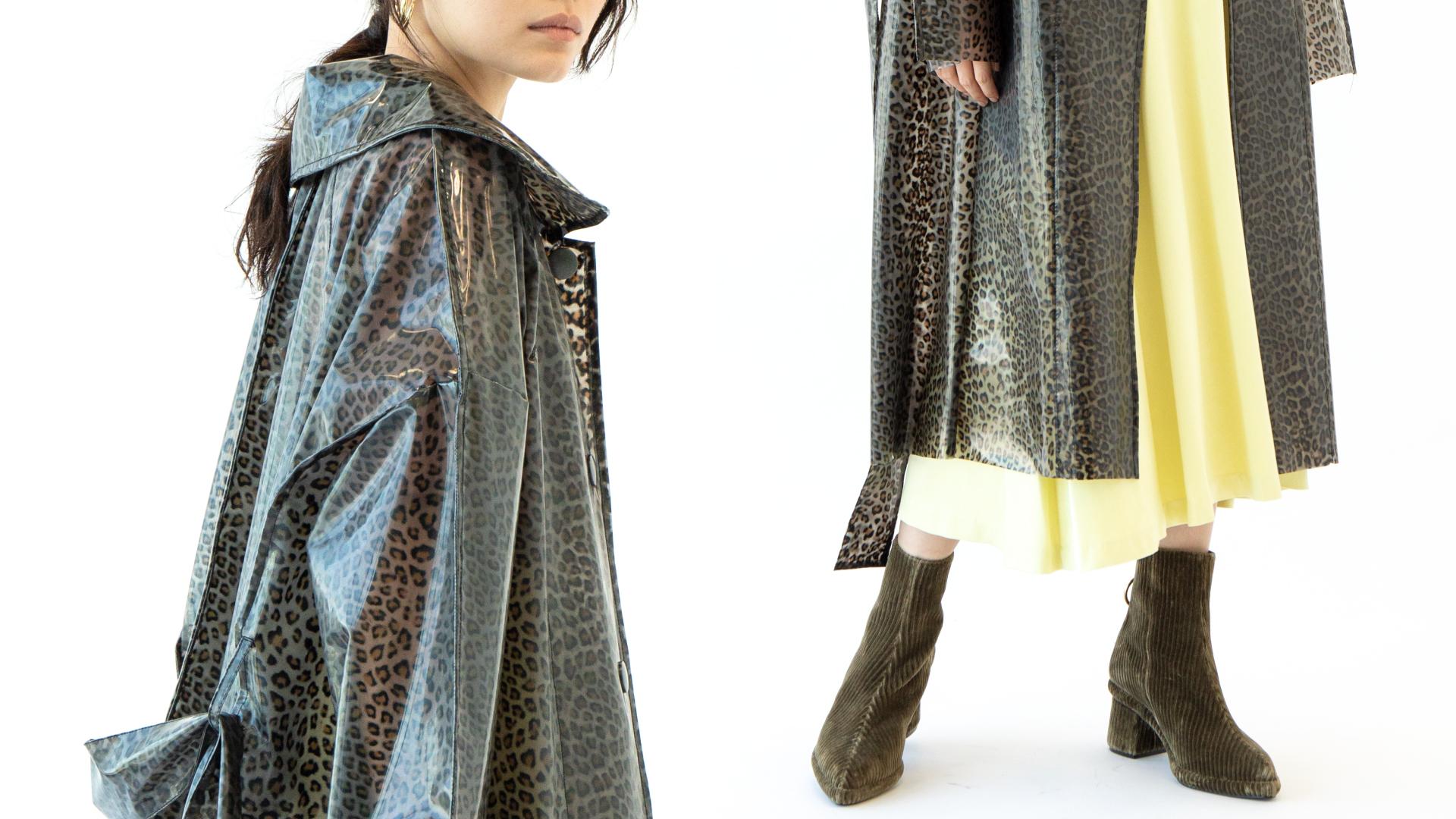 雨&肌寒さはPVCコートにお任せ。今買う羽織りはこれ!