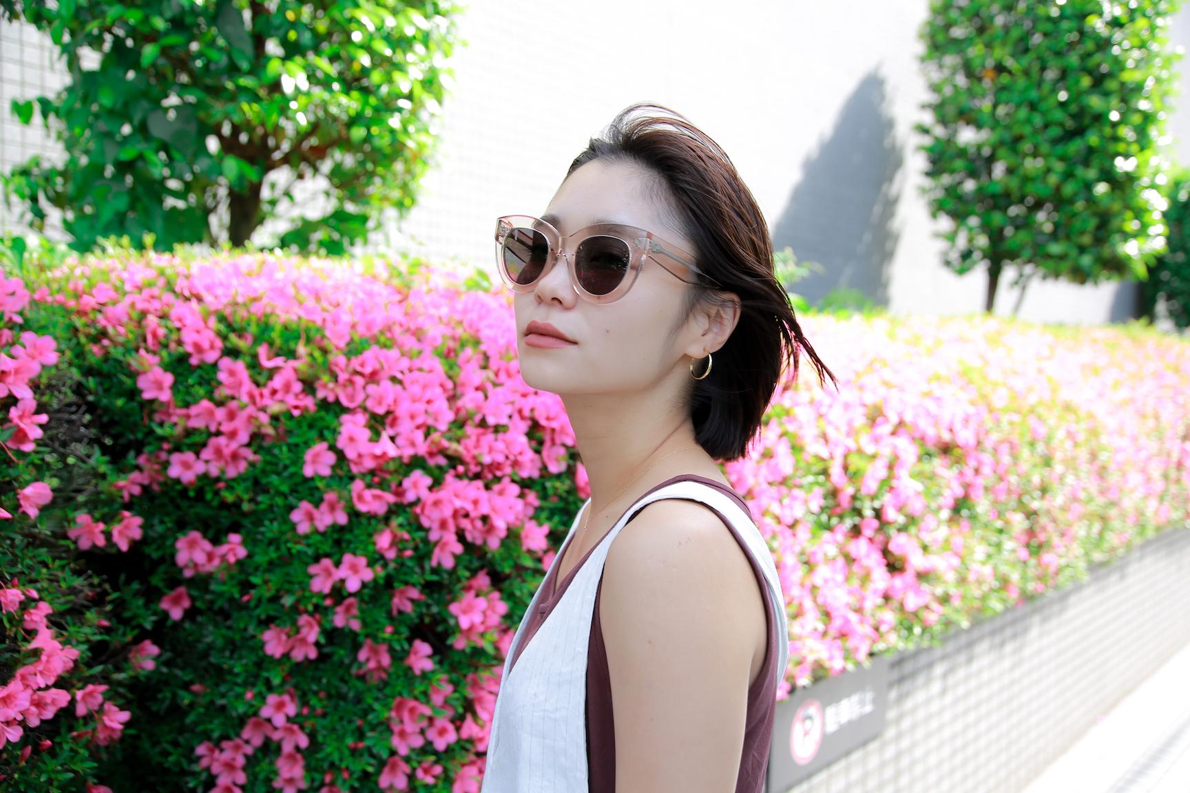 初夏を取り入れるならホワイトオールインワンで/忍舞さんの7days coordinate #Day7